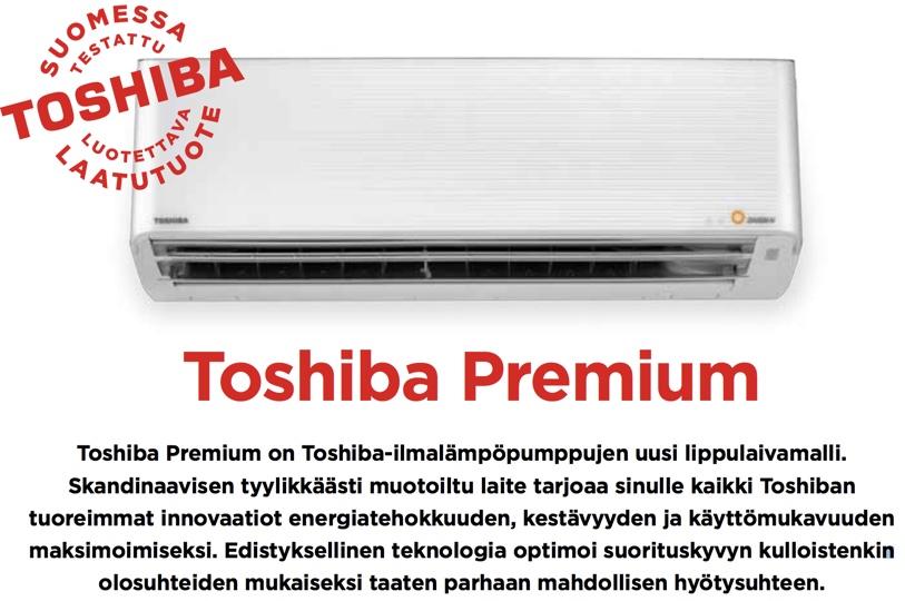 Toshiba premium Energiamestarit